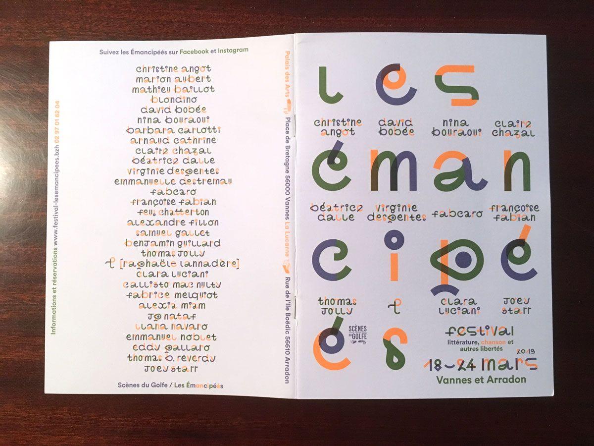 Festival Les Émancipéés, Palais des Arts de Vannes